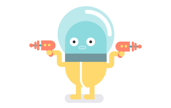 animated explainer video robot image
